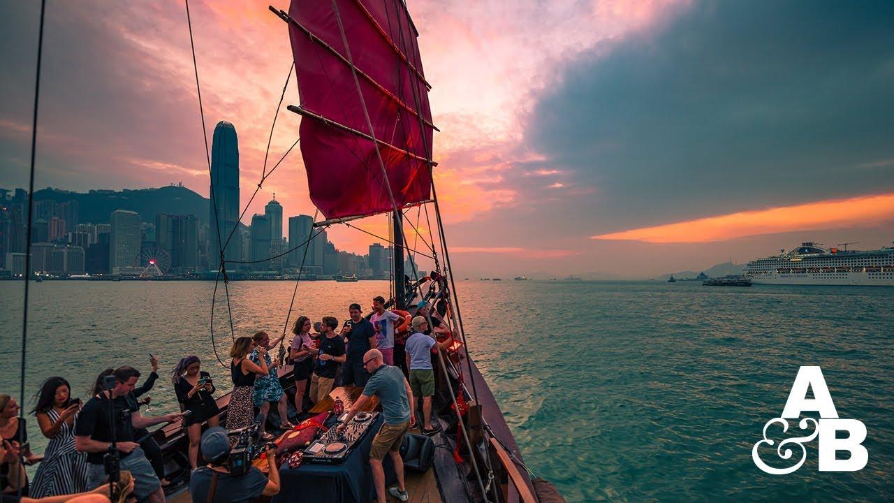 Above & Beyond boat party @ Hong Kong