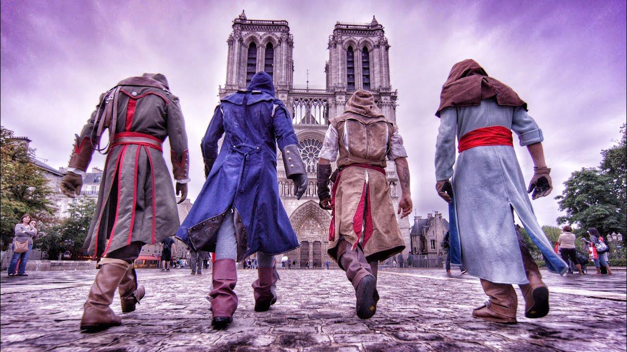 Assassin's Creed Unity με Parkour στην πραγματική ζωή