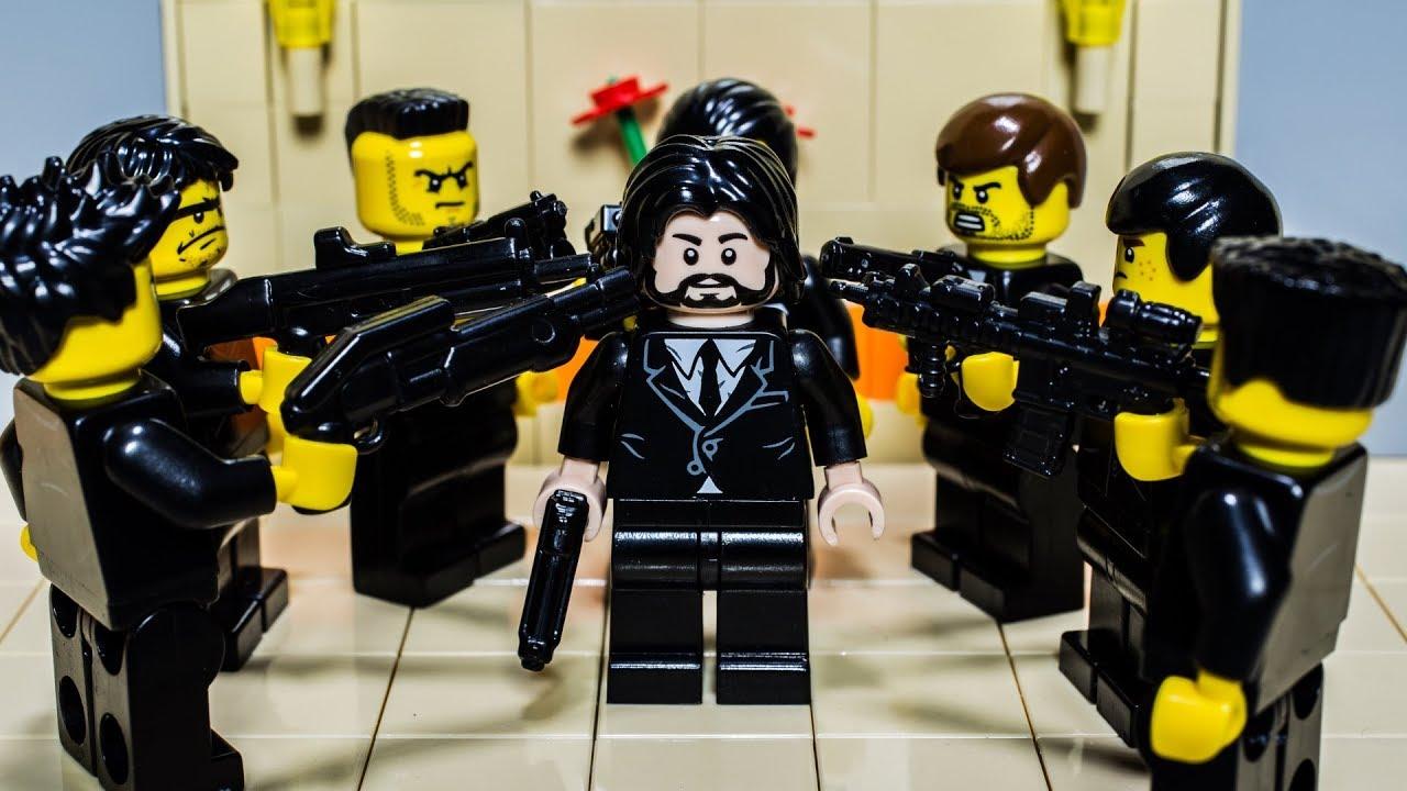 John (Wick) Brick - Lego edition